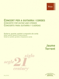Concert per a guitarra i cordes - Torrent